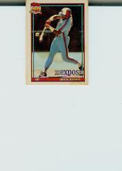 1991 Topps Cracker Jack I #3 Tim Raines