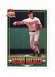 1991 Topps Micro #5 Cal Ripken RB