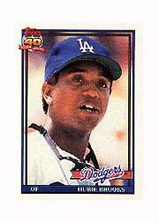 1991 Topps Micro #115 Hubie Brooks
