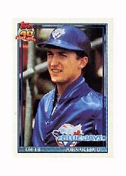 1991 Topps Micro #168 John Olerud