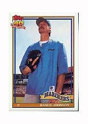 1991 Topps Micro #225 Randy Johnson
