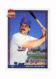1991 Topps Micro #295 Rafael Palmeiro