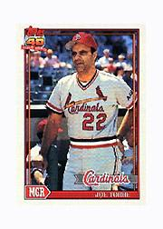 1991 Topps Micro #351 Joe Torre MG