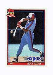 1991 Topps Micro #360 Tim Raines