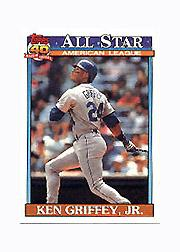1991 Topps Micro #392 Ken Griffey Jr. AS
