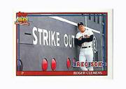 1991 Topps Micro #530 Roger Clemens