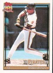 1991 Topps Micro #570 Barry Bonds