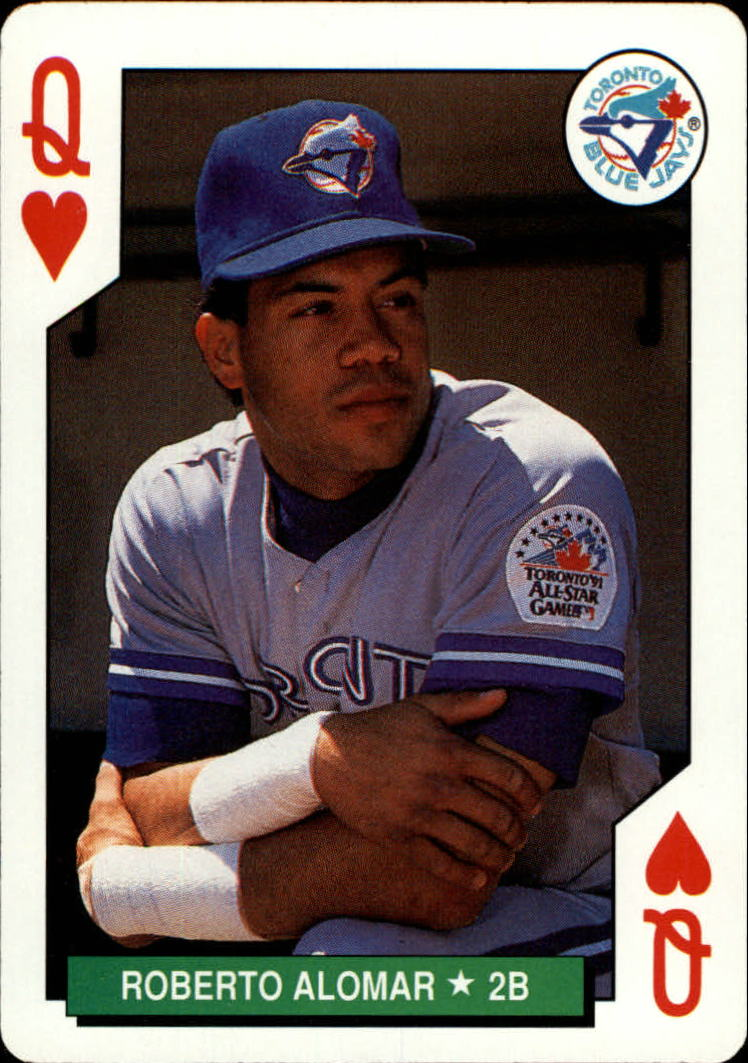1991 U.S. Playing Cards All-Stars #12H Roberto Alomar