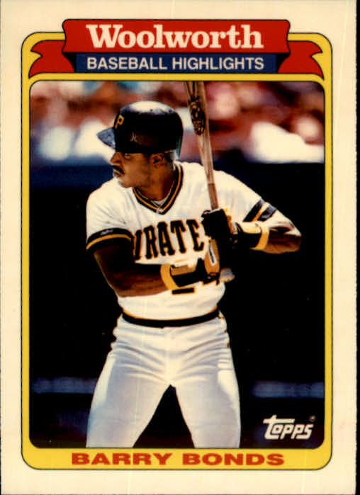 1991 Woolworth's Topps #1 Barry Bonds