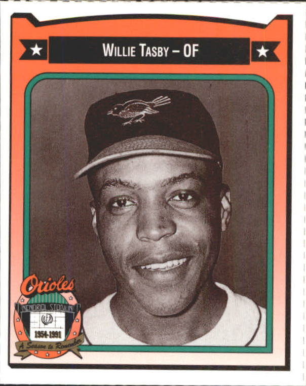 1991 Orioles Crown #449 Willie Tasby
