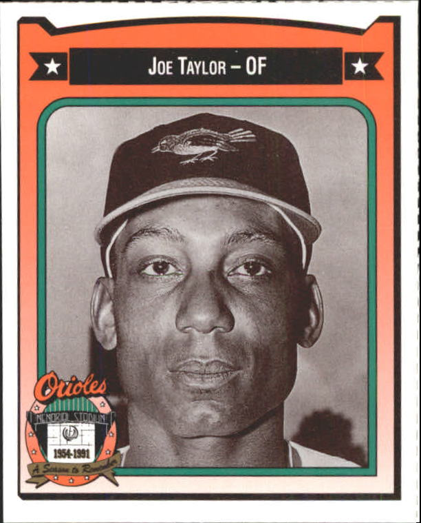 1991 Orioles Crown #450 Joe Taylor