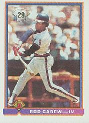 1991 Bowman #4 Rod Carew IV