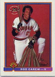 1991 Bowman #5 Rod Carew V