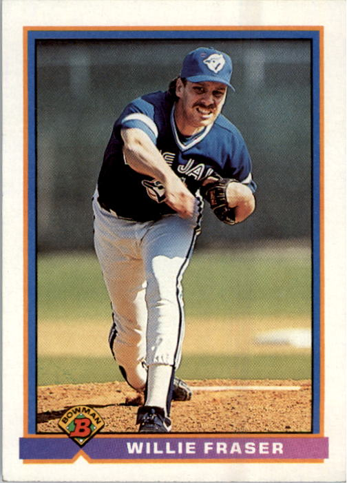 1991 Bowman #6 Willie Fraser