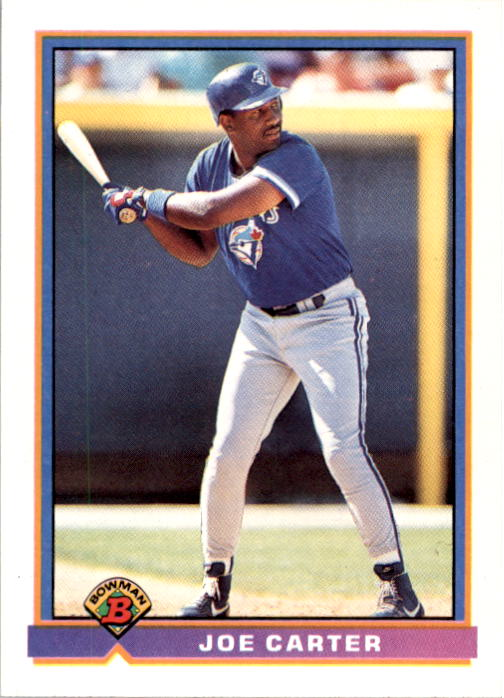 1991 Bowman #11 Joe Carter