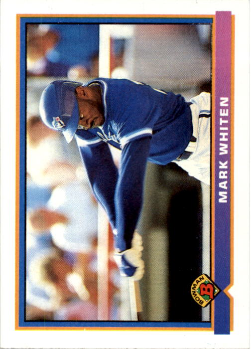 1991 Bowman #13 Mark Whiten