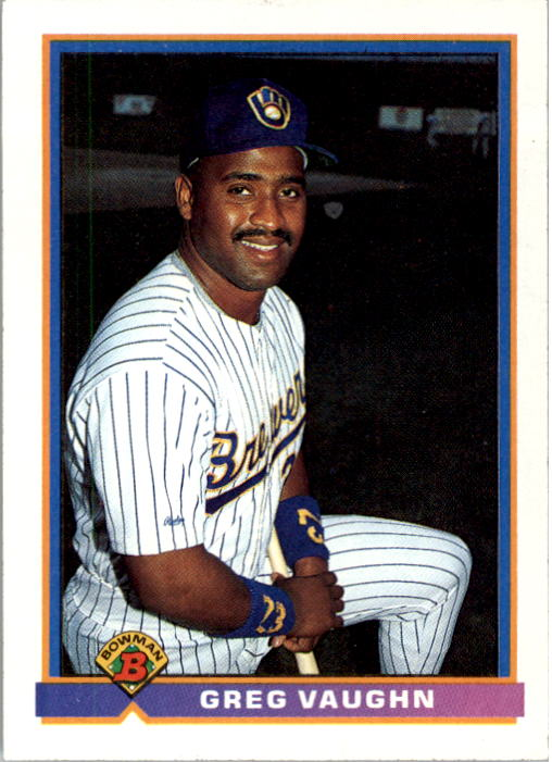 1991 Bowman #33 Greg Vaughn