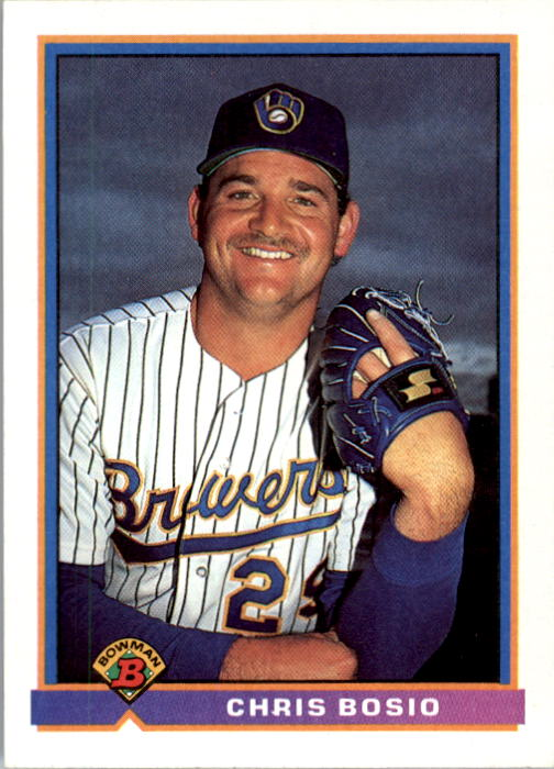 1991 Bowman #43 Chris Bosio