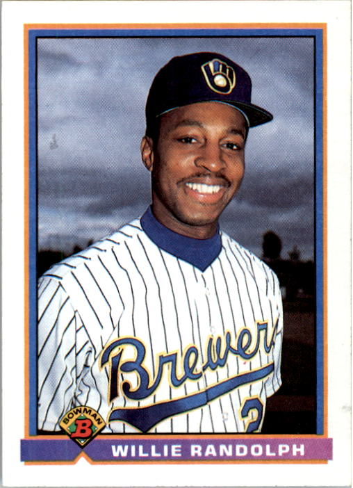 1991 Bowman #46 Willie Randolph