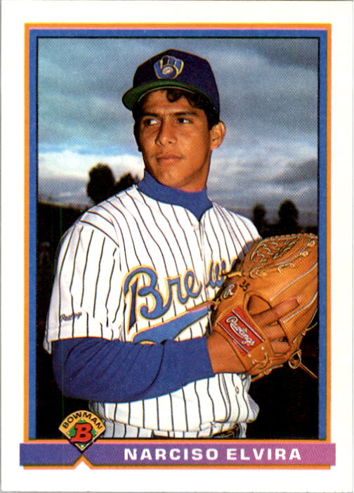 1991 Bowman #47 Narciso Elvira RC