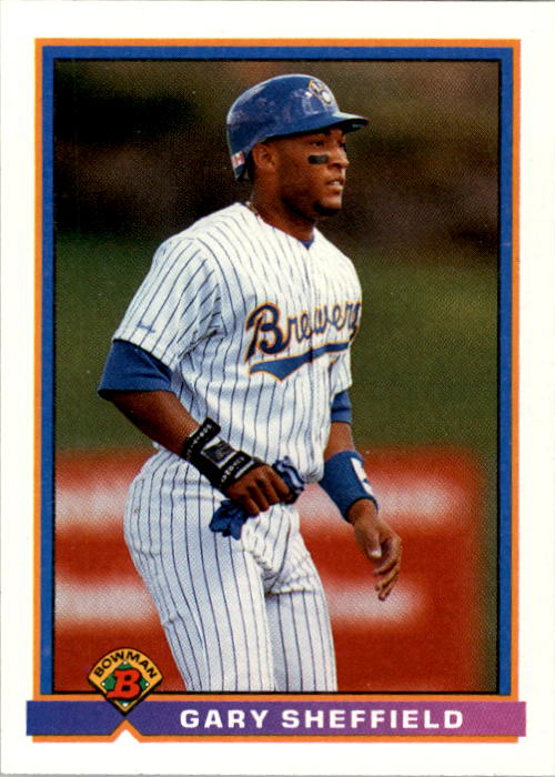 1991 Bowman #52 Gary Sheffield