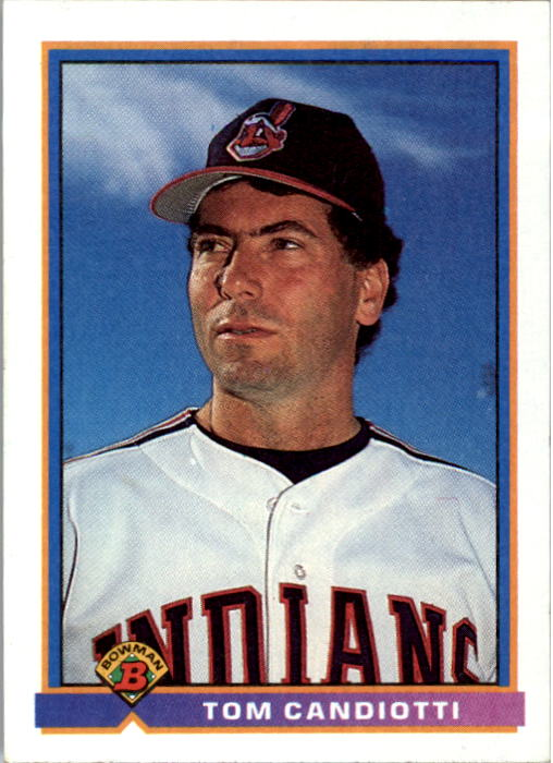 1991 Bowman #62 Tom Candiotti