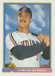 1991 Bowman #69 Carlos Baerga