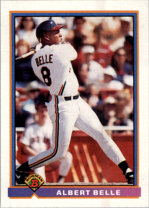 1991 Bowman #81 Albert Belle