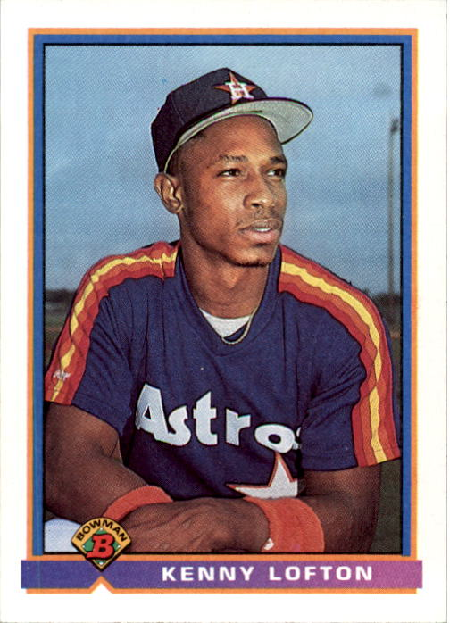 1991 Bowman #565 Kenny Lofton RC