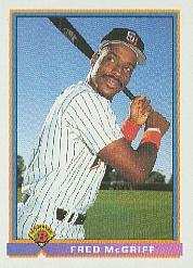 1991 Bowman #659 Fred McGriff