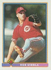 1991 Bowman #667 Rob Dibble