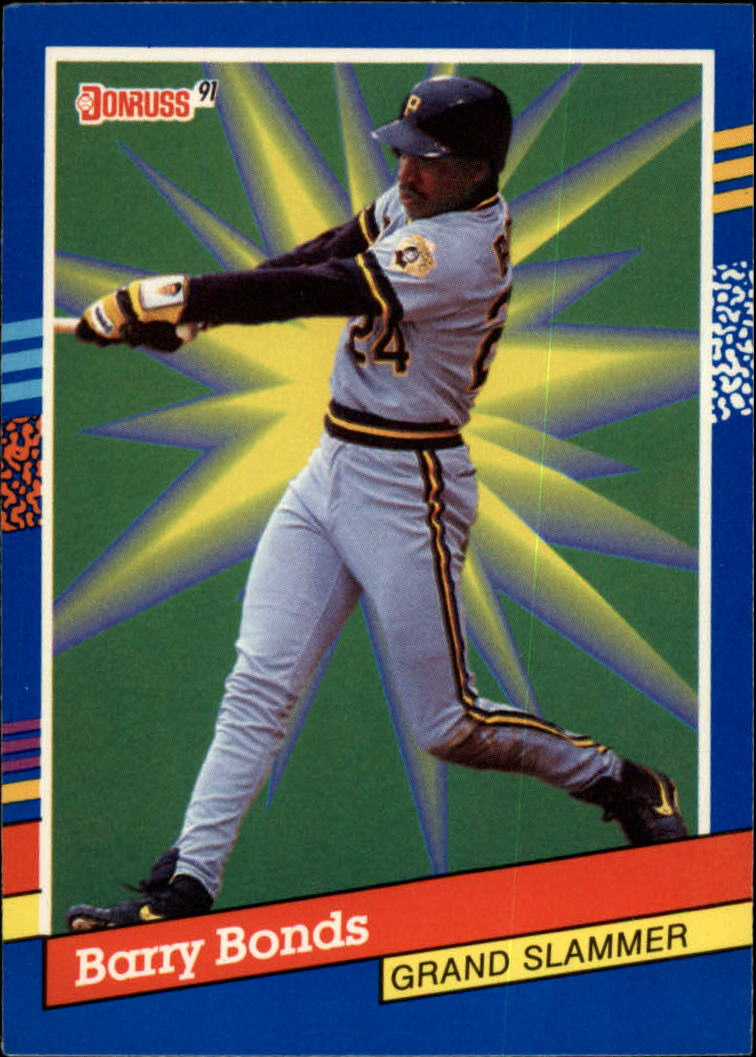 1991 Donruss Grand Slammers #5 Barry Bonds