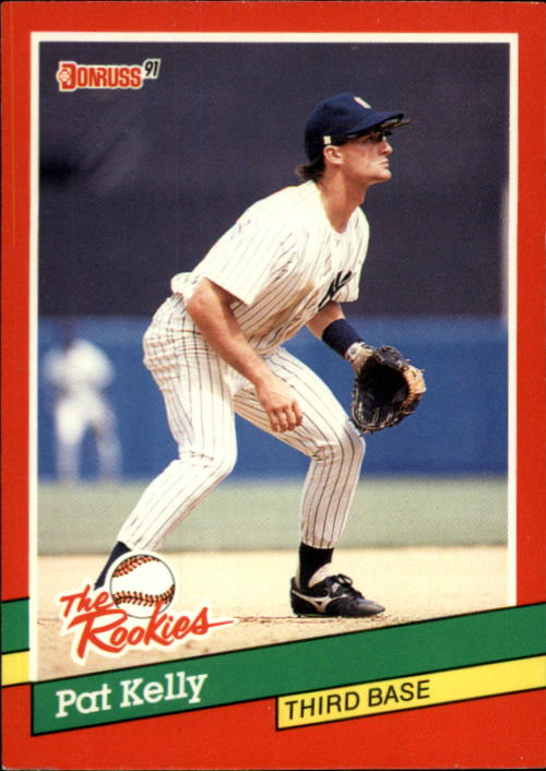 1991 Donruss Rookies #1 Pat Kelly RC