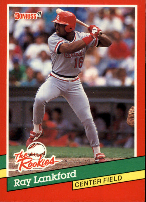 1991 Donruss Rookies #8 Ray Lankford