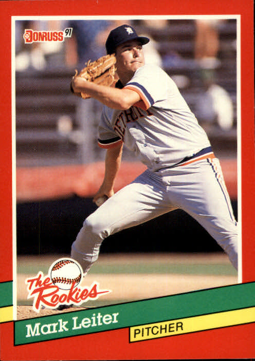 1991 Donruss Rookies #29 Mark Leiter RC