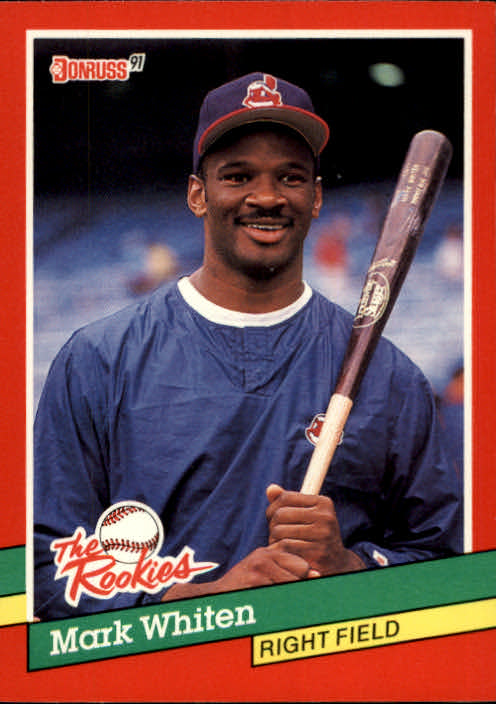 1991 Donruss Rookies #32 Mark Whiten