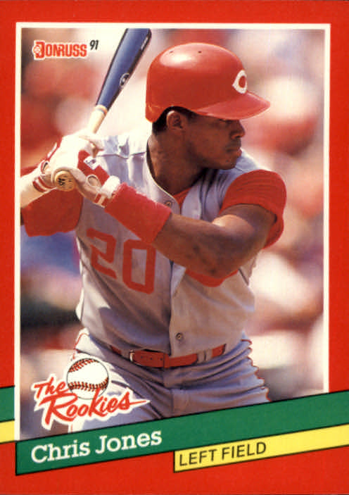 1991 Donruss Rookies #50 Chris Jones RC