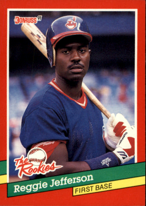 1991 Donruss Rookies #55 Reggie Jefferson