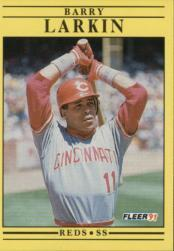 1991 Fleer #68 Barry Larkin