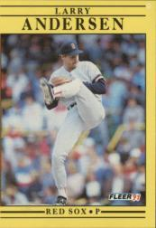 1991 Fleer #83 Larry Andersen