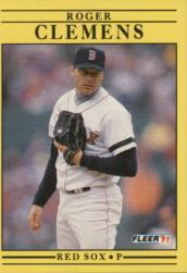 1991 Fleer #90 Roger Clemens