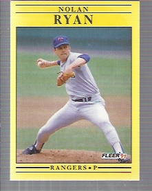 1991 Fleer #302 Nolan Ryan