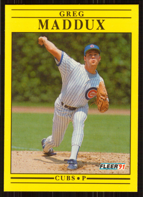 1991 Fleer #426 Greg Maddux