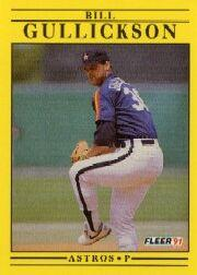 1991 Fleer #508 Bill Gullickson