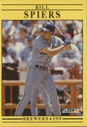 1991 Fleer #597 Bill Spiers