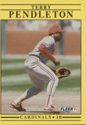 1991 Fleer #642 Terry Pendleton