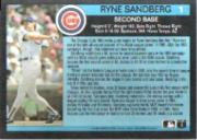 1991 Fleer All-Stars #1 Ryne Sandberg back image