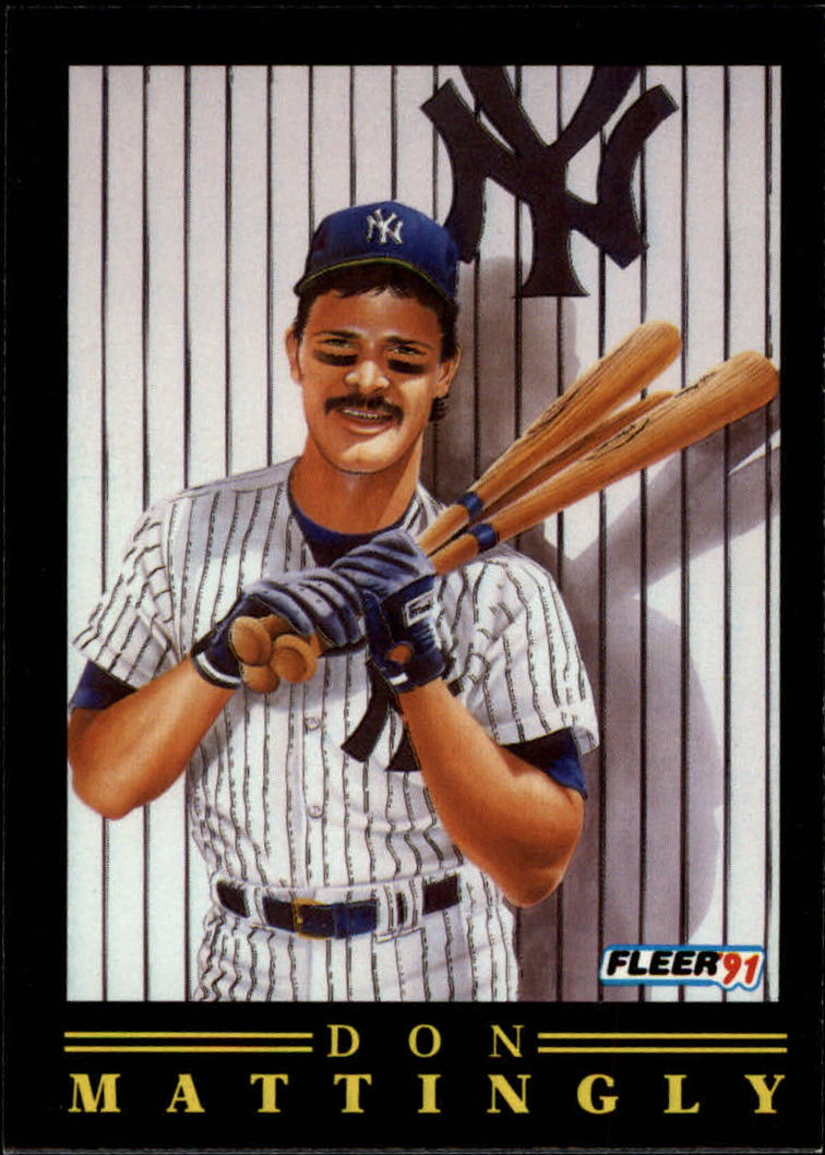 1991 Fleer Pro-Visions #11 Don Mattingly
