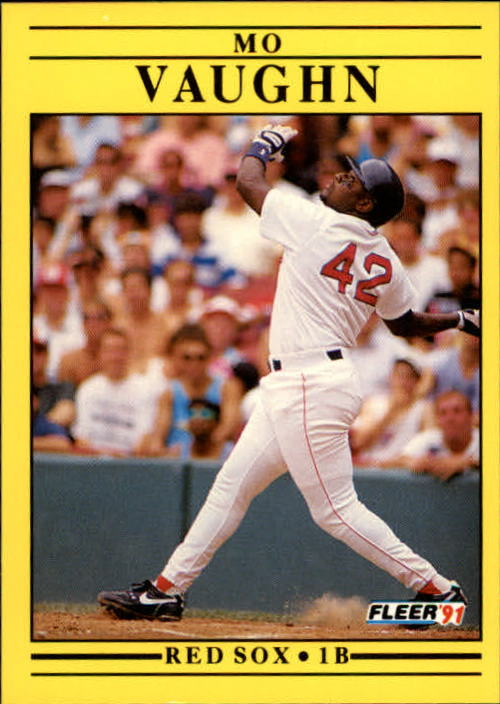 1991 Fleer Update #7 Mo Vaughn
