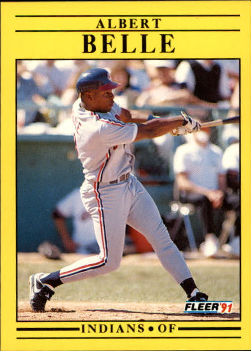 1991 Fleer Update #16 Albert Belle